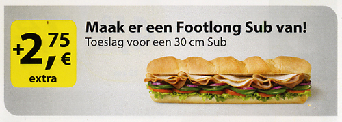 footlong sub